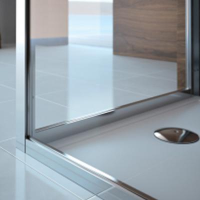 Douche 3 Murs porte cristal 90 3 murs d v/bl - receveur et cabine de douche salle
