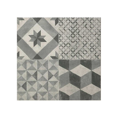 GRES TERRA DECO GREY  60x60 RT SILK