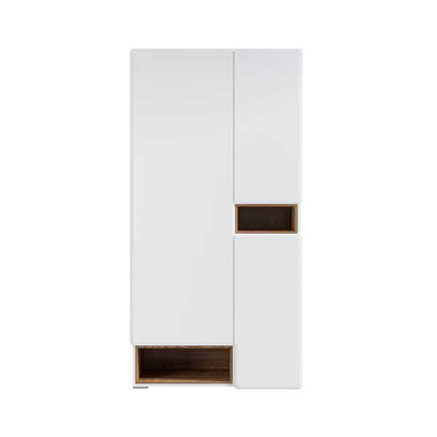 GARDE ROBE POSSI AIR 3PORTES MELEZE ET BLANC BRILLANT