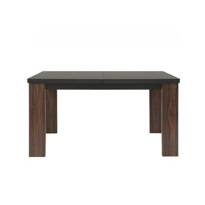 TABLE EXTENSIBLE ALHAMBRA NOIR ET ALHAMBRA