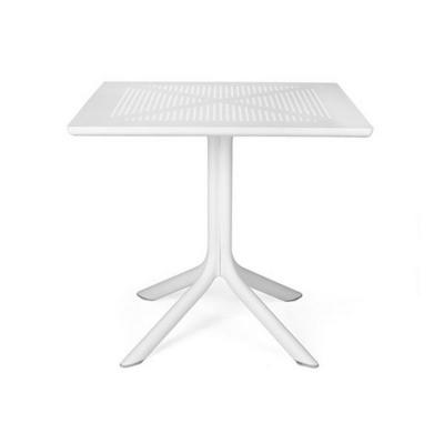 Table CLIP 80 Blanc