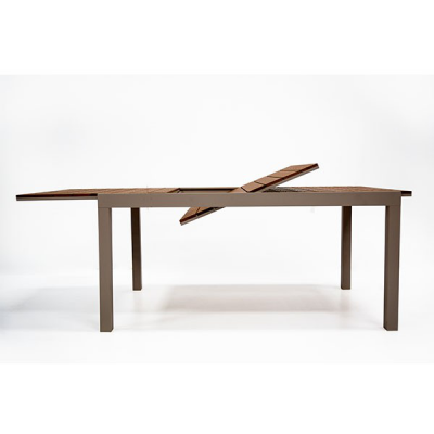 TABLE  EDEN 160-240 EXTENSIBLE GRIS PIGEON