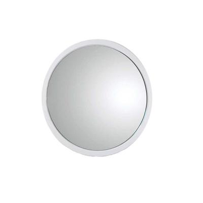 Miroir ROND blanc diamètre 80