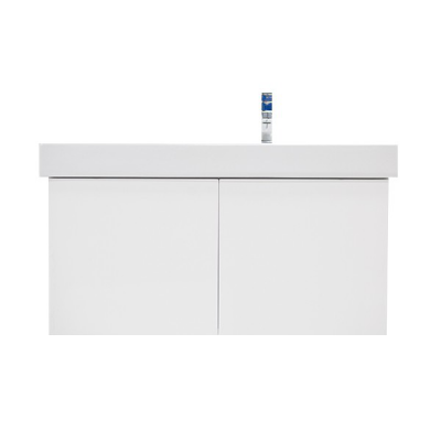 Meuble FLUX 100 blanc brillant
