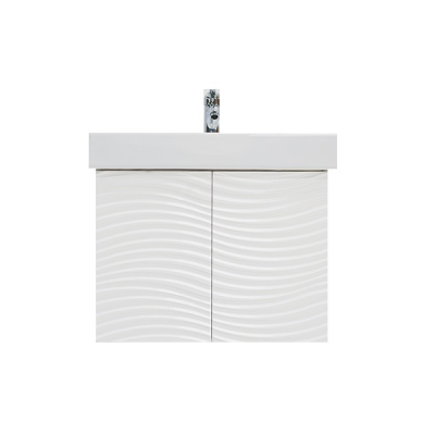 Meuble FLUX 65 blanc brillant