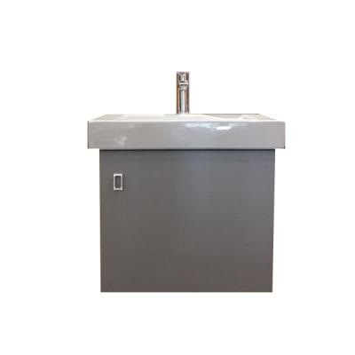 Meuble LINHA 55 gris métallisé