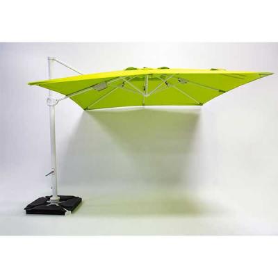 Parasol Roma Vert 3x3m avec couverture
