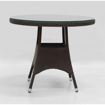 TABLE TREFLE MOCCA DIAM 120 H74 cm