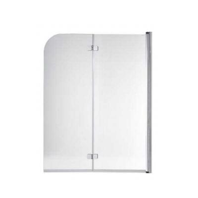 Porte pour baignoire AQUARELA DUO 120 droite (profilé blanc)