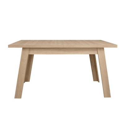 TABLE EXTENSIBLE COSME CHENE SONOMA AVEC GUIDES SYNCHRONES