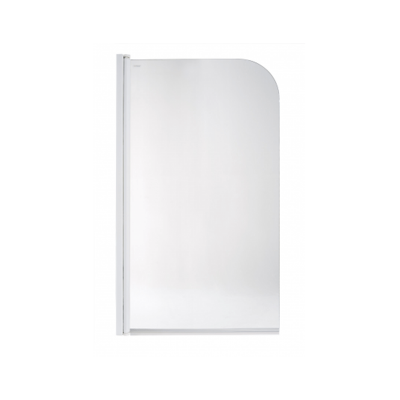 Porte pour baignoire AQUARELA simple (profilé blanc)