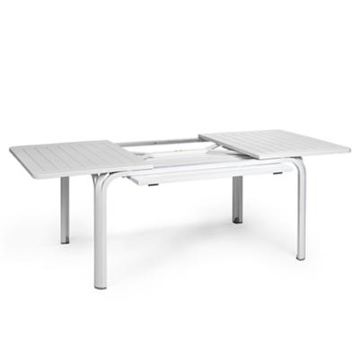 Table ALLORO 140 extensible Blanc