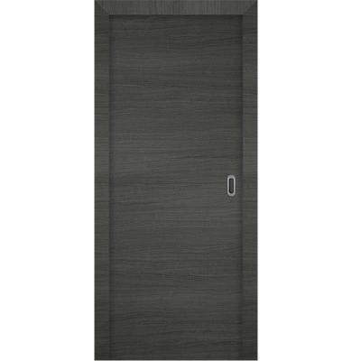 Porte 3D GRIS coulissante 90cm