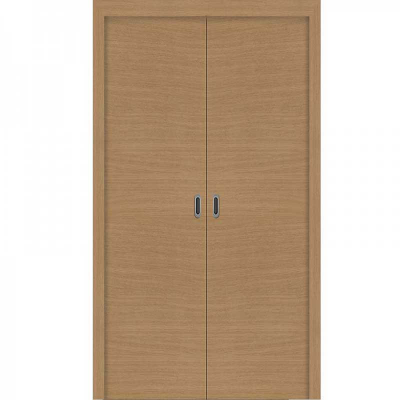 Porte SD CHÊNE HORIZONTAL  coulissante 140cm