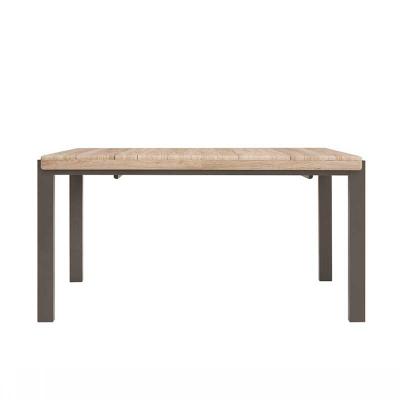 TABLE EXTENSIBLE ALHER LAVA CHÊNE CLAIR