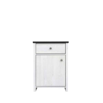 COMMODE PORTO 1PORTE 1TIROIR PIN LARICO