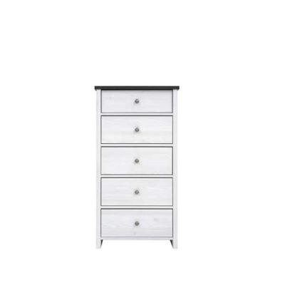 COMMODE PORTO 5TIROIRS PIN LARICO