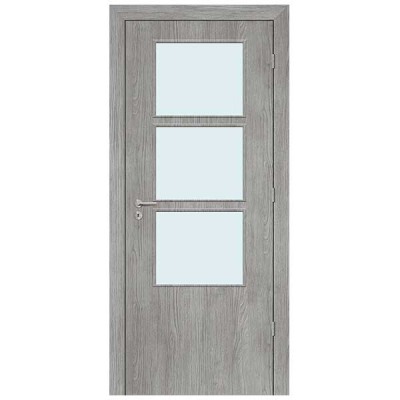 Porte SD GLACIER vitrée 90cm droite