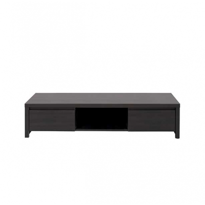 TABLE TV KASPIAN 2TIROIRS WENGE
