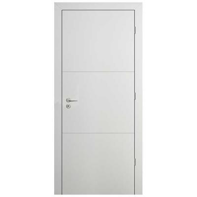 Porte HD BLANC INLAY IG2H 90cm Droite