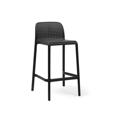 TABOURET LIDO MINI ANTRACITE