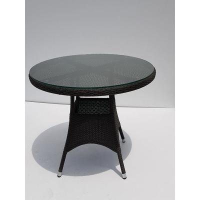 TABLE TREFLE MOCCA DIAM 90 H74 cm