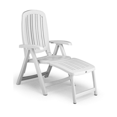 Fauteuil multipositions SALINA 45 Blanc