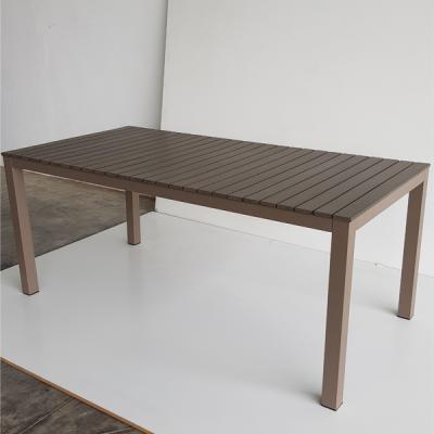 TABLE URBAIN CAFFE/TAUPE 180X90 H75 cm