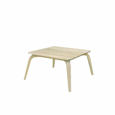 TABLE BASSE COMPLETE POSSI  CHÊNE CLAIR