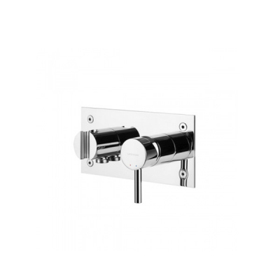 MIT DOUCHE ENC TUBE CHROME