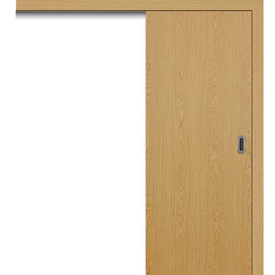 Porte SD CHÊNE coulissante apparente 80cm gauche