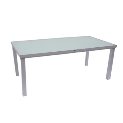 TABLE MALIBU 150X90 WHITE