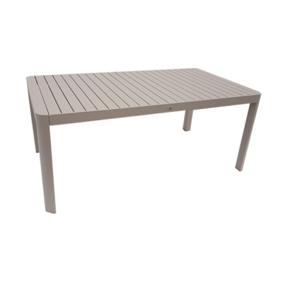 TABLE OLGA  180-240 EXTENSIBLE GRIS PIGEON